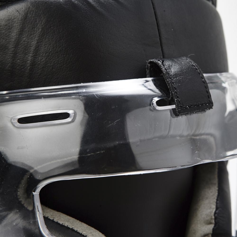 투명캡 안면보호 헤드기어